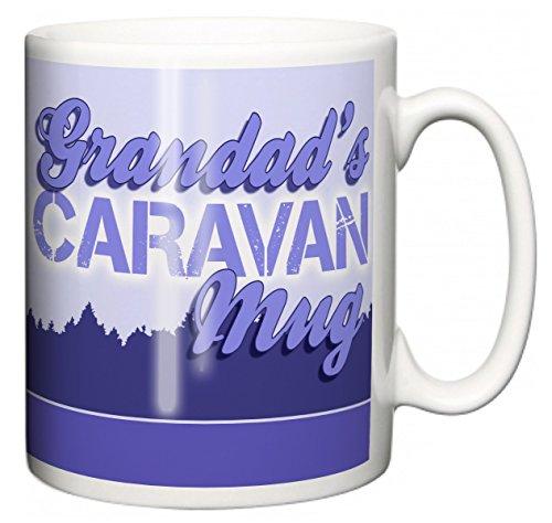 "IiE, Grandad\'s Caravan Mug \"", mit Aufschrift\"" I love my Wobble-Box, camping, Kaffee oder Tee Tasse"