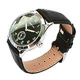 Regalia Company Replica WW2 German Army Service Watch (Black)