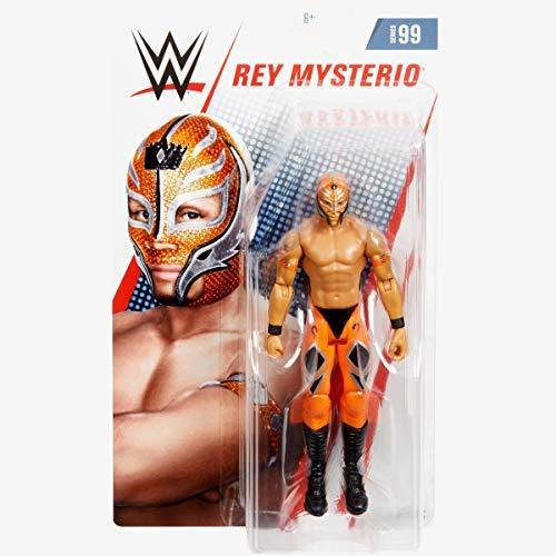 HP UK WWE - Serie 99 - Rey Mysterio- Actionfigur, Bring Heim Die Aktion Der Circa 6