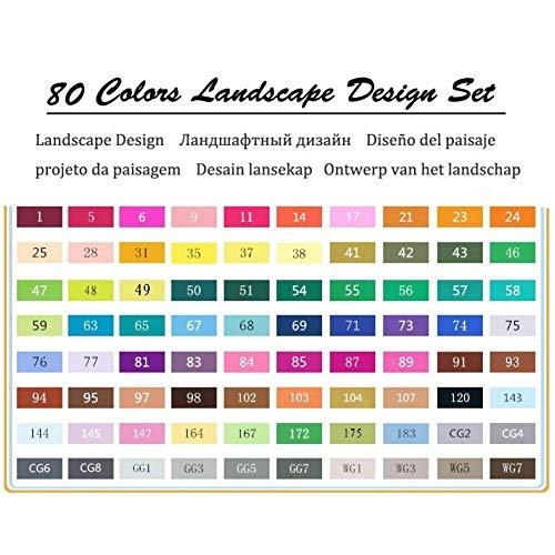 KJFUN 6/12 Grijze kleuren Art Markers Grijswaarden Artist Dual Head Markers Brush Pen Painting Marker School