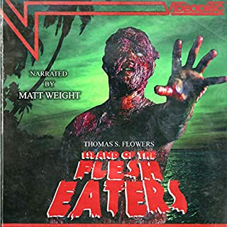 Island of the Flesh Eaters audiobook cover art