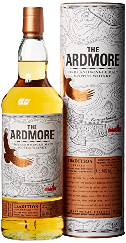 Ardmore Tradition Peated Whisky mit Geschenkverpackung (1 x 1 l)