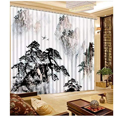cortinas cortas para ventanas dormitorio