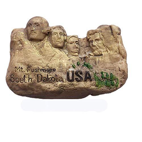 3D Mount Rushmore National Memorial Park South Dakota USA Koelkast Magne Souvenir Gft Collection Huis & Keuken Decoratie Magnetische Sticker Amerika koelkast magneet