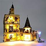 Kit de luz LED para Lego 75948 Hogwarts Castle Clock Tower USB y funciona con pilas (LED incluido solamente, sin kit LEGO)