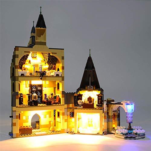 ZJLA Kit de luz LED para Lego 75948 Harry Potter Hogwarts Castle Tower USB y funciona con pilas (LED incluido, no kit LEGO)