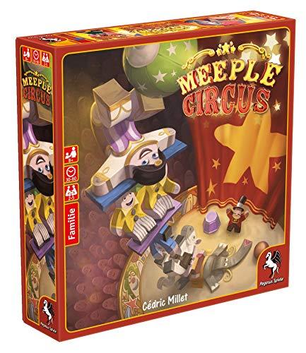 Pegasus Spiele 57022G - Meeple Circus (deutsche Ausgabe)