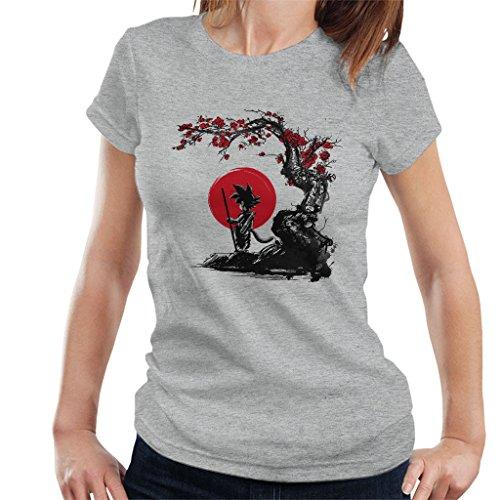 Cloud City 7 Dragonball Z Saiyan Under The Sun Women's T-Shirt