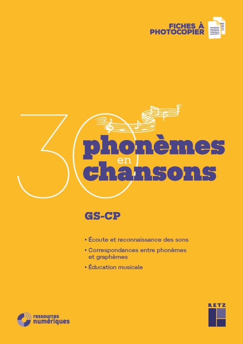 Download Ebook 30 Phonmes En 30 Chansons  Ressources Numriques