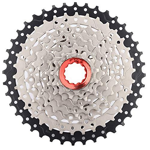CLOUDH Cassette de 8 Velocidades, Volante de Bicicleta de MontañA de RelacióN Amplia, 11-40t, Accesorio de Repuesto para Bicicleta, Apto para Sram, Shimano, Bicicleta de MontañA, BMX