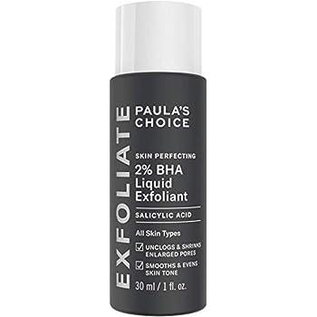 Paula's Choice Skin Perfecting 2% BHA Exfoliante Liquido - Peeling Facial Combate los Puntos Negros, Poros Dilatados y Acne - con Ácido Salicílico - Piel Mixta a Grasa - 30 ml