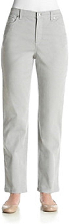 Gloria Vanderbilt Amanda colord Denim Pants MARBLE MIST 8 AVG