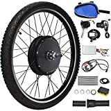 """Best Electric Bicycle Conversion Kits - Goplus 48V 1000W Electric Bicycle Kit, 26""""x1.95"""" Front/Rear Review"""