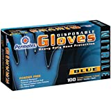 Permatex 09186 X-Large Disposable Nitrile Gloves, Box of 100, Extra-Large