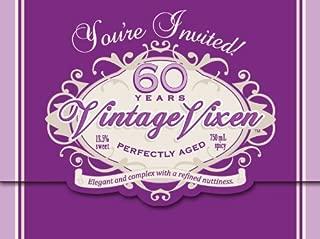 Creative Converting Vintage Vixen 8 Count 60th Birthday Party Invitations