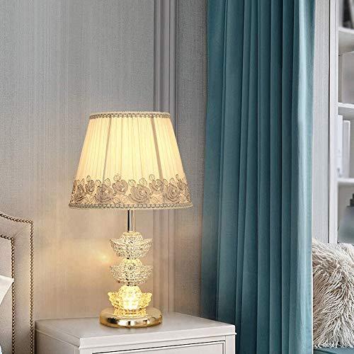 Smart Table Lamp, decoratieve tafellamp, Glowing Body Crystal Chrome Kant Zonnescherm Tafel Lamp, gebruikt for Make-up tafel in de slaapkamer en woonkamer