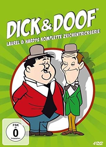 A Laurel and Hardy Cartoon - 4-DVD Set [ NON-USA FORMAT, PAL, Reg.2 Import - Germany ]
