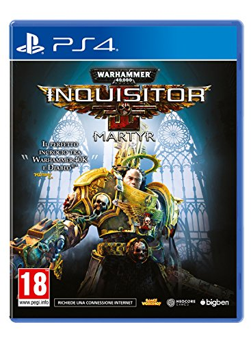 Bigben Interactive Warhammer 40,000: Inquisitor – Martyr, PS4 vídeo - Juego (PS4, PlayStation 4,...