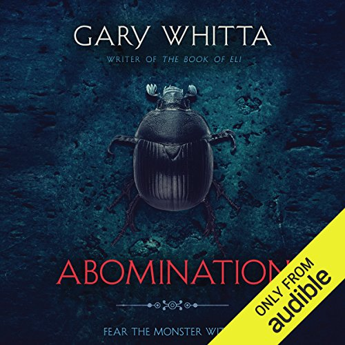 Abomination audiobook cover art