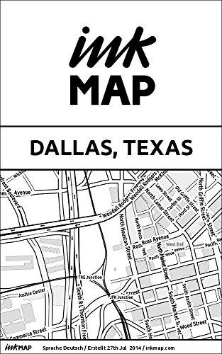Inkmap Dallas, Texas - Karten für eReader, Sehenswürdigkeiten, Kultur, Ausgehen (German)