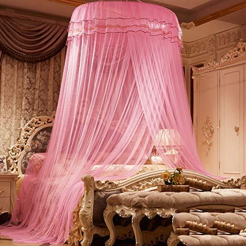 Willlly Dome Deken muggennet prinses bed Casual Chic Baldakijn spiegel tent Encrypte C Twinch1 landhuisstijl Oosterse zachte decoratie Size Kleur: zwart/bruin,