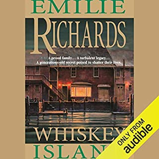 Whiskey Island audiobook cover art