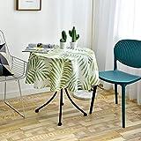 Mantel Redondo De Impresión China, Mantel De Poliéster Lavable para Decoración De Mesa De Centro, Mantel De Cocina para Sala De Estar, Mantel para Té