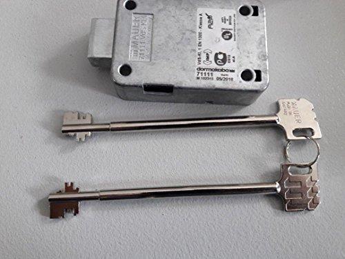 Tresorschloss l KABA MAUER 71111 VDS 1. Mit 2 Schlüssel 150mm