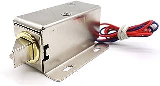 MoPei Cerradura de Puerta Electrónica, DC 12V Cerradura Eléctrica de Solenoide para Control de Acceso del Cajón del Gabinete