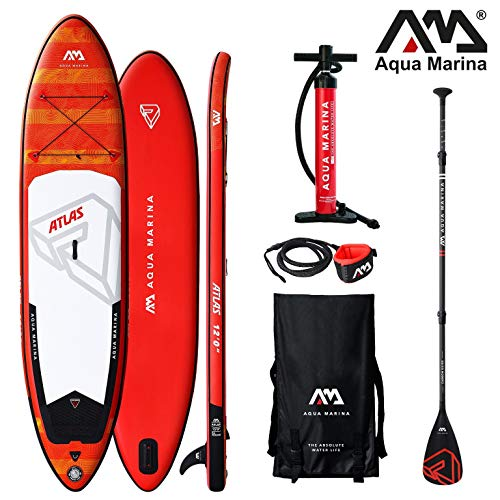 Aqua Marina Atlas Monster 2019 SUP Board Inflatable Stand Up Paddle Surfboard...