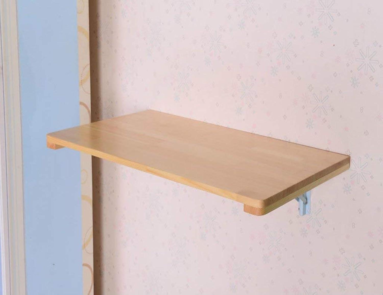 ventas en linea Wghz Mesa Plegable Plegable Plegable Mesa de Comedor de Madera de Mesa de Comedor de Mesa de Parojo de Madera Maciza, tamaño múltiple Opcional (tamaño  80  40 cm)  alta calidad