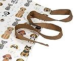 Küchenschürze für Frauen Damen Hundemotiv Kochschürze Baumwolle mit Taschen zum Kochen, Hund Geschenk für Hundeliebhaber - 4