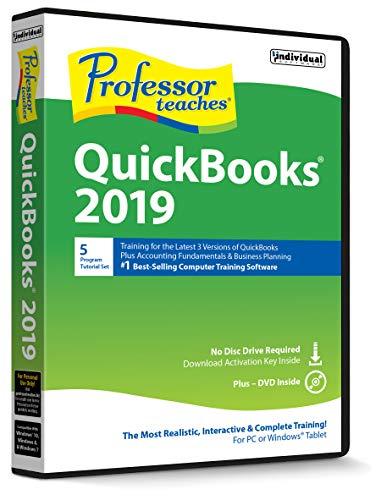 Individual Software Professor Teaches QuickBooks 2019