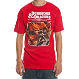 Dungeons and Dragons Third Edition T-Shirt-XX-Large Red