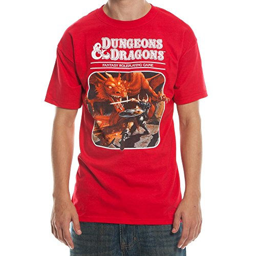Dungeons and Dragons Third Edition T-Shirt-Medium Red