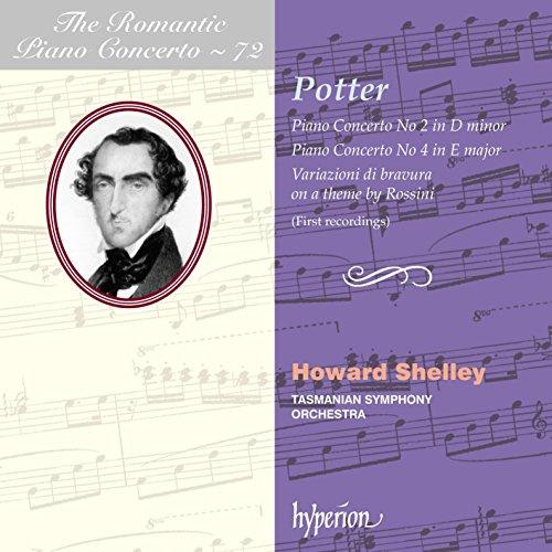 Howard Shelley & Tasmanian Symphony - The Romantic Piano Concerto Vol.72