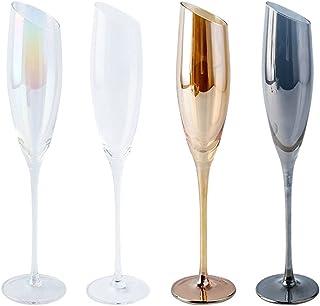 Verres à vin rouge Verre à vin en verre de style européen Cocktail Cocktail Champagne Verre pour Verre à vin de la fête à ...