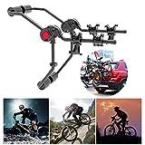 LZQpearl Coche Portabicicletas, Bicicleta Coche (Compatible con 2...