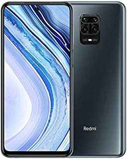 Xiaomi Redmi Note 9 Pro Smartphone, Dual SIM, 64GB, 6GB RAM - Interstellar Grey
