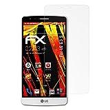 atFolix Schutzfolie kompatibel mit LG G3 S Bildschirmschutzfolie, HD-Entspiegelung FX Folie (3X)