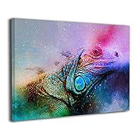 Skydoor J パネル ポスターフレーム トカゲ は虫類 インテリア アートフレーム 額 モダン 壁掛けポスタ アート 壁アート 壁掛け絵画 装飾画 かべ飾り 30×40