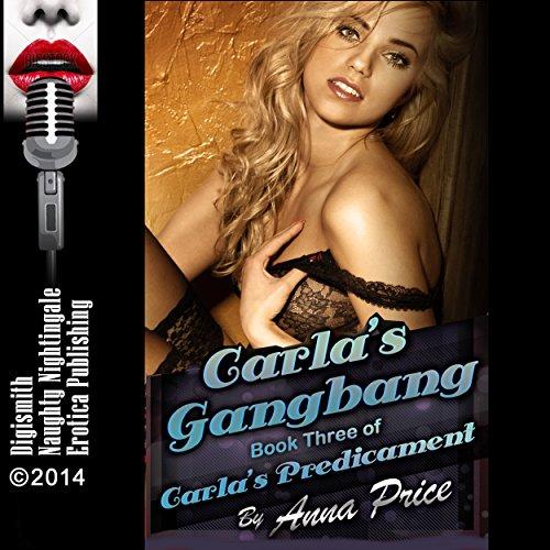 Carla's Gangbang: A Rough Group Sex Erotica Story audiobook cover art