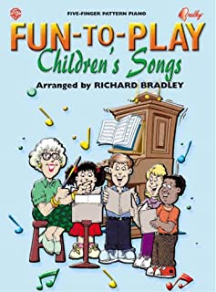 Fun-to-Play Children's Songs (Five-finger Pattern Piano)