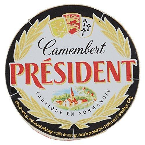 プレジデント カマンベール チーズ 250g 白カビ ×2セット