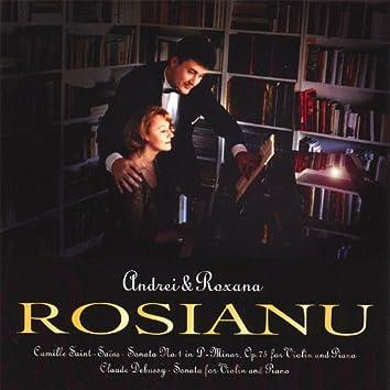 Camille Saint-Saens & Claude Debussy, Violin Sonatas