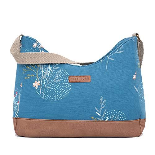 Brakeburn Posey Hobo-Tasche, Blau, Blau - blau - Größe: Einheitsgröße