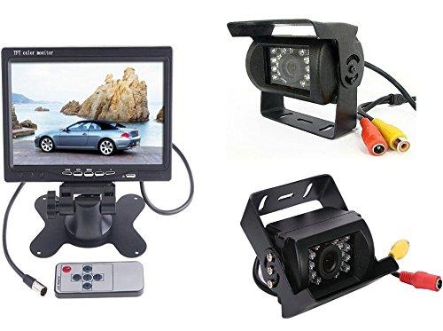 BW Kits de vue arrière de voiture – Moniteur LCD 7\