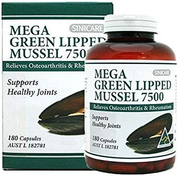Sini Care Mega Green 7500 Mussel Our shop gift OFFers the best service Lipped