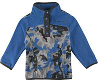 Free Country L.T.D. Boys Size 2T (Toddler) L/S Microtech Fleece Pullover, Electric Blue