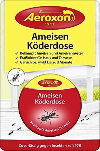 AEROXON Ameisenköderdose - schnelle und starke Wirkung - auch gegen die Ameisenkönigin